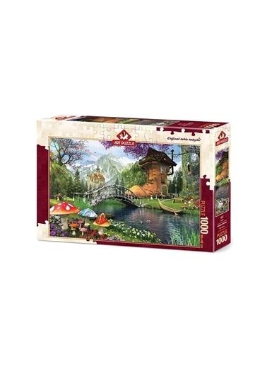 Art Puzzle Art Puzzle Postal 1000 Parça Kutu Puzzle  Renksiz
